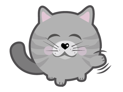 Cat Stickers for iMessage messages sticker-1