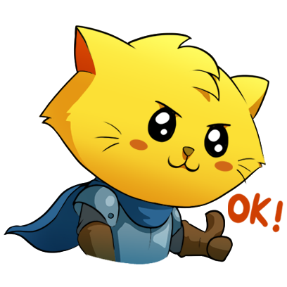 Cat Quest Stickers messages sticker-1