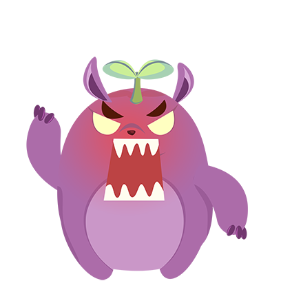 Perry the Purple Monster messages sticker-9