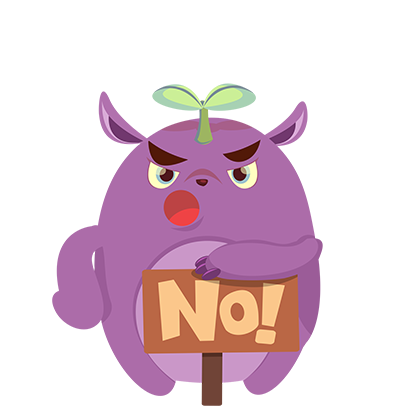 Perry the Purple Monster messages sticker-8