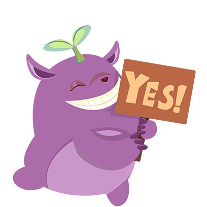 Perry the Purple Monster messages sticker-7