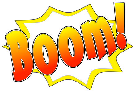Ka-Pow! Comic Sound Effect Bubbles messages sticker-6