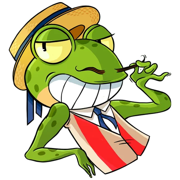 Mr. Ribbit messages sticker-5