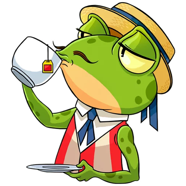 Mr. Ribbit messages sticker-3