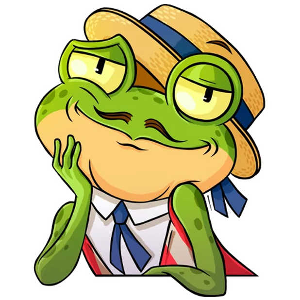 Mr. Ribbit messages sticker-10