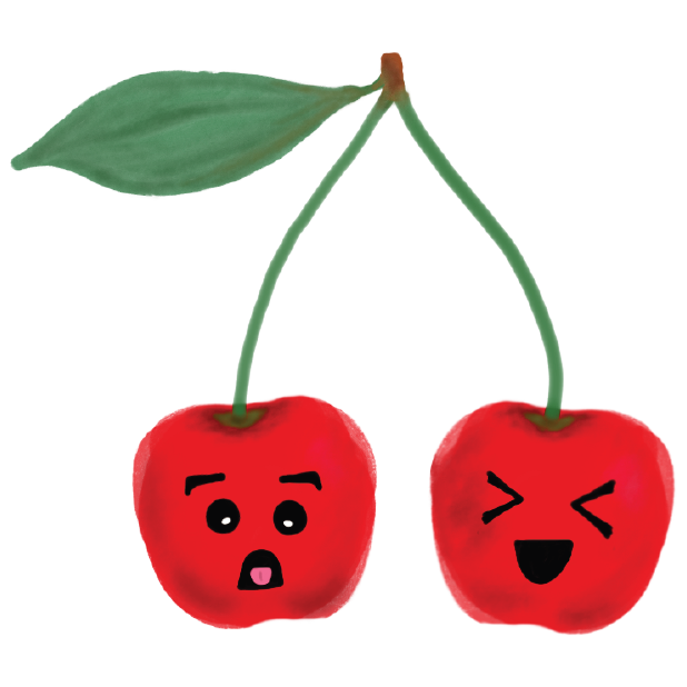 Fruits by Bernice Lin messages sticker-2