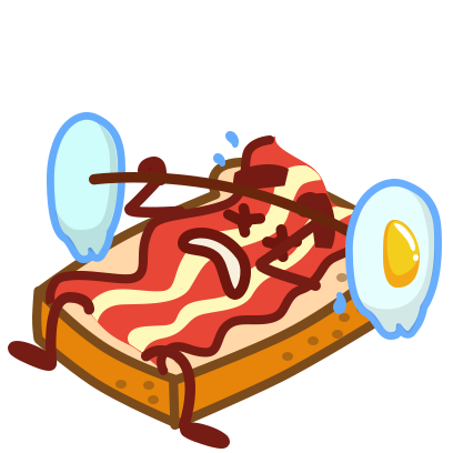 Bacon Animated Sticker Pack messages sticker-1