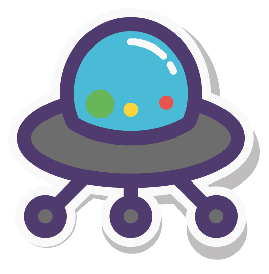 Ibbleobble Space Stickers for iMessage messages sticker-2