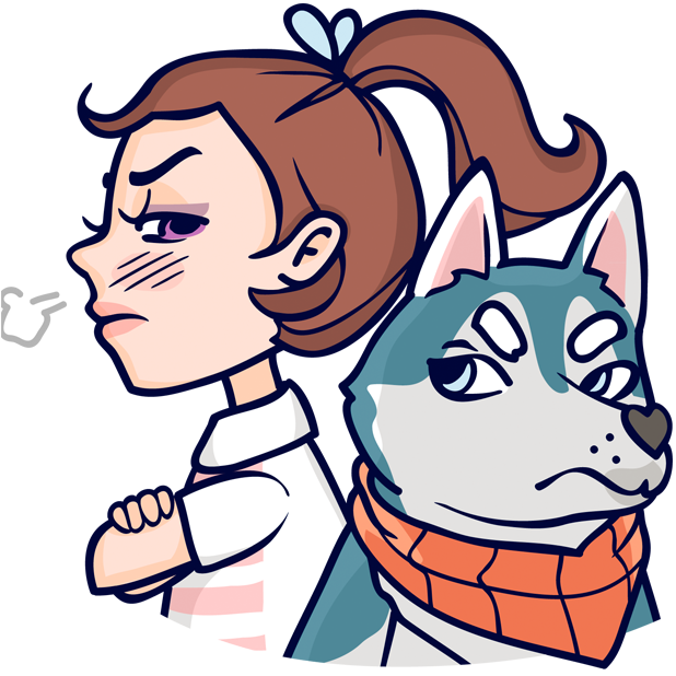 Jess and Jack messages sticker-8