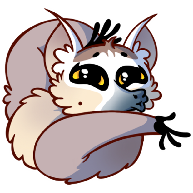 Tailor the Lemur messages sticker-4