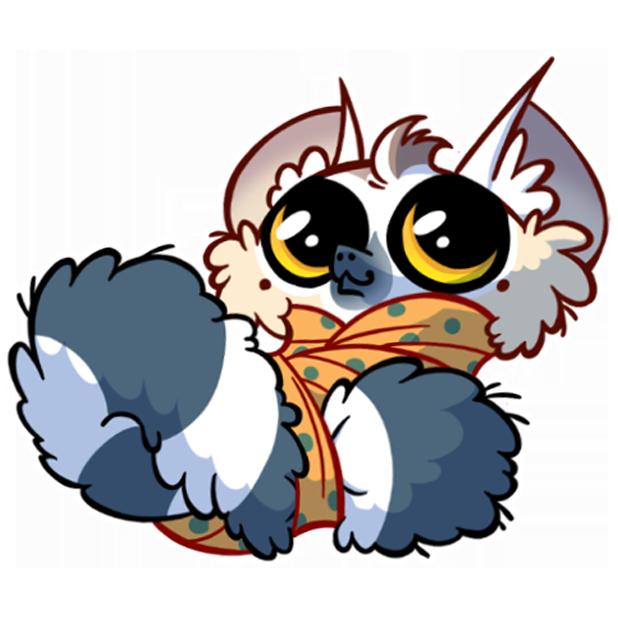 Tailor the Lemur messages sticker-2