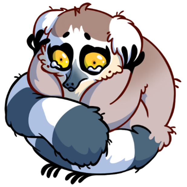 Tailor the Lemur messages sticker-1