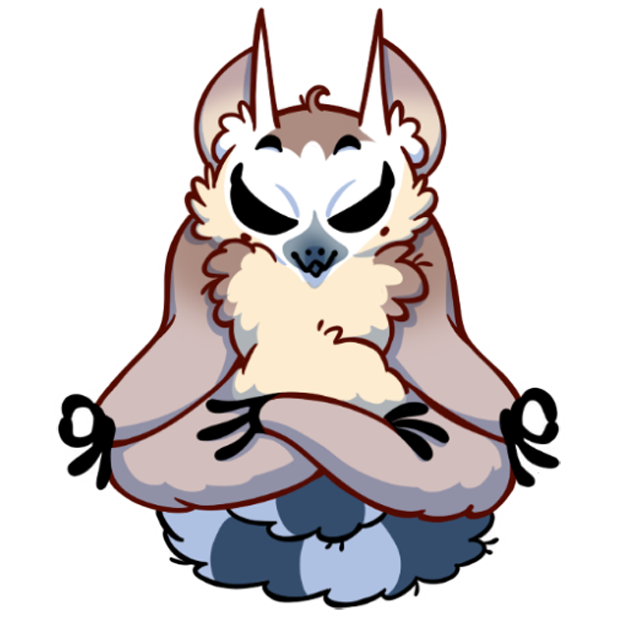 Tailor the Lemur messages sticker-8