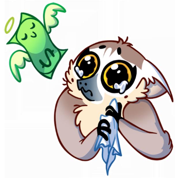 Tailor the Lemur messages sticker-10