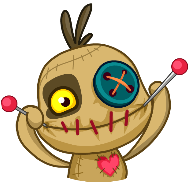 Voodoo Doll Chumbo messages sticker-9