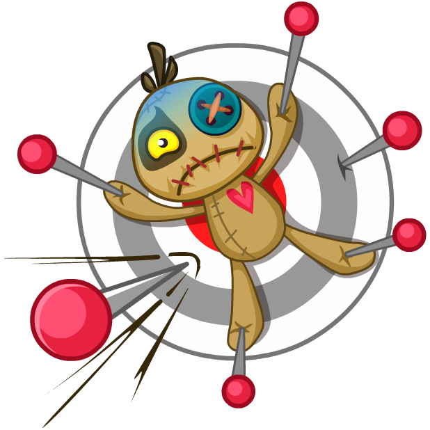 Voodoo Doll Chumbo messages sticker-6