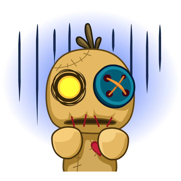 Voodoo Doll Chumbo messages sticker-0