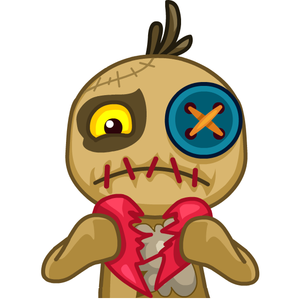 Voodoo Doll Chumbo messages sticker-10