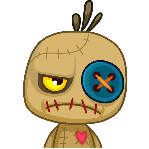 Voodoo Doll Chumbo messages sticker-11