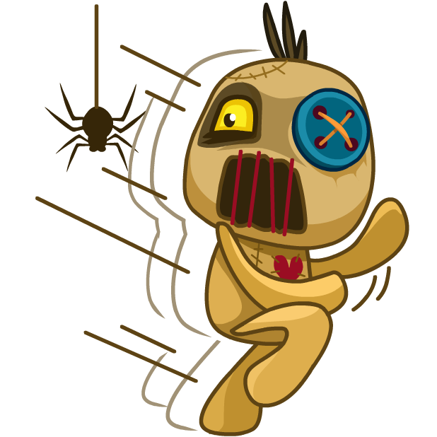 Voodoo Doll Chumbo messages sticker-7