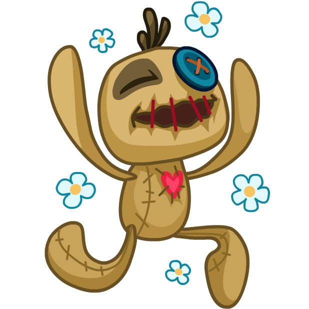 Voodoo Doll Chumbo messages sticker-4
