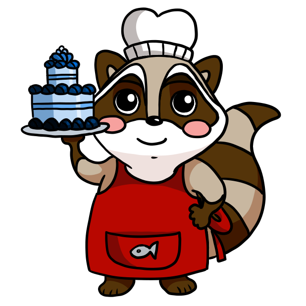 Bandit the Raccoon messages sticker-9