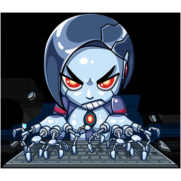 Go Robot messages sticker-1