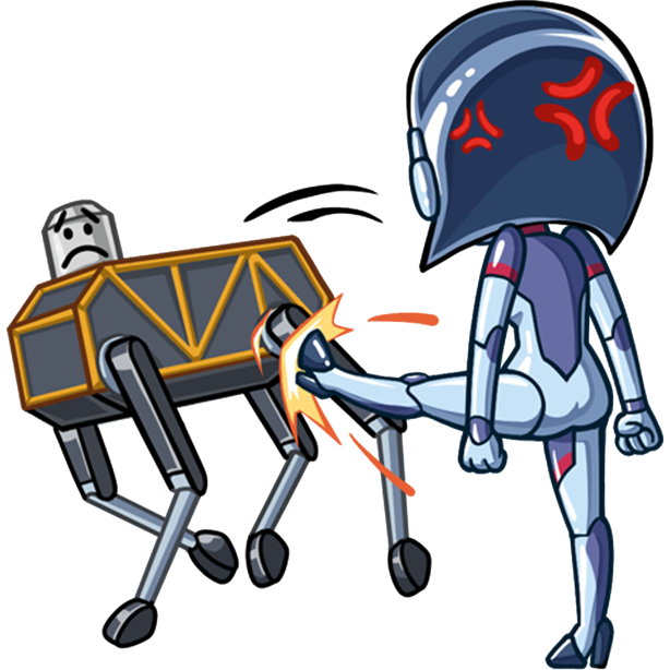 Go Robot messages sticker-8