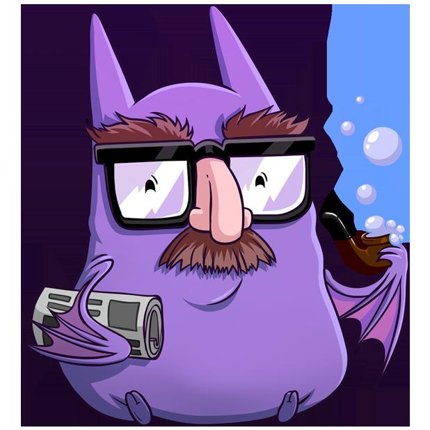 Batty Battons messages sticker-2