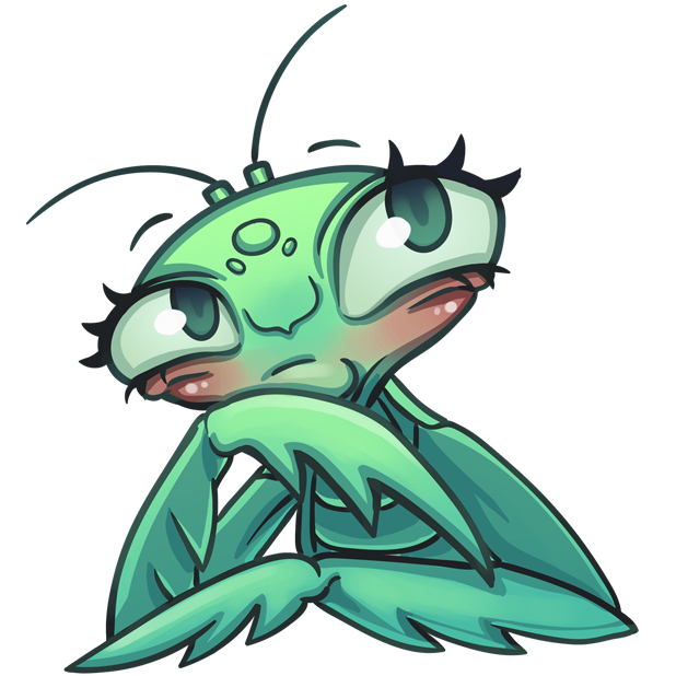 Eva the Mantis messages sticker-4