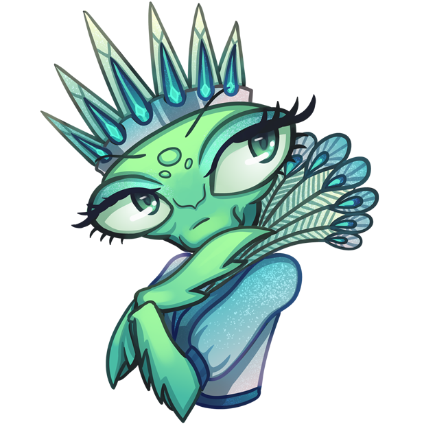 Eva the Mantis messages sticker-6