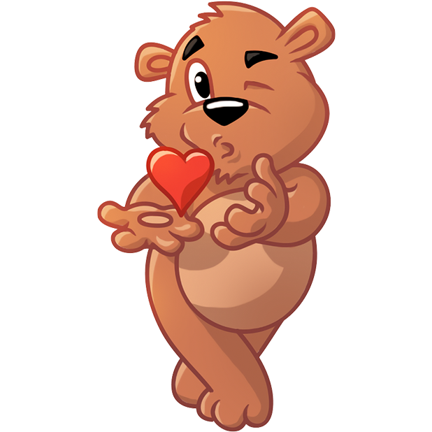 Marty Bearson messages sticker-9