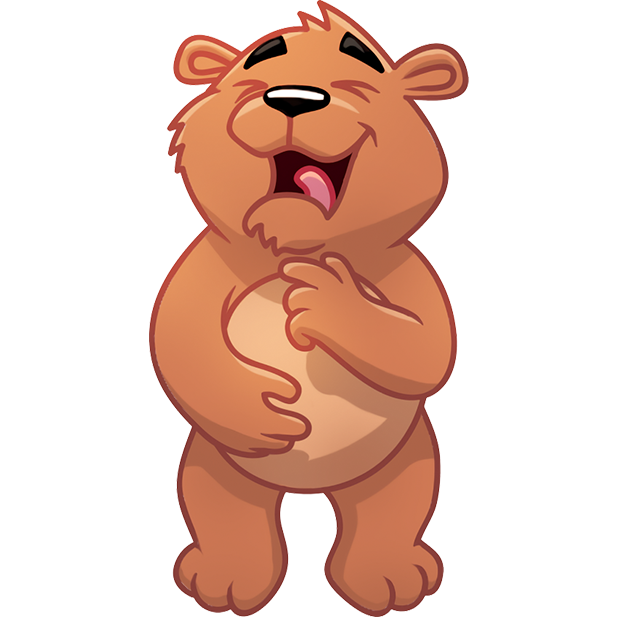 Marty Bearson messages sticker-8