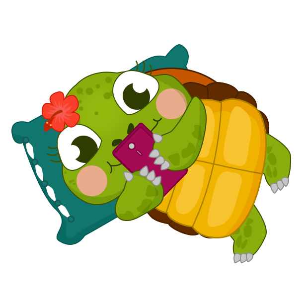 Honu Stickers messages sticker-5