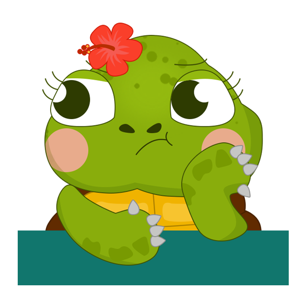 Honu Stickers messages sticker-1