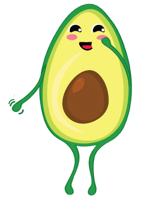 Little Avocados Stickers messages sticker-1