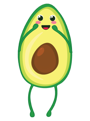 Little Avocados Stickers messages sticker-0