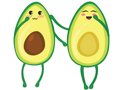 Little Avocados Stickers messages sticker-2