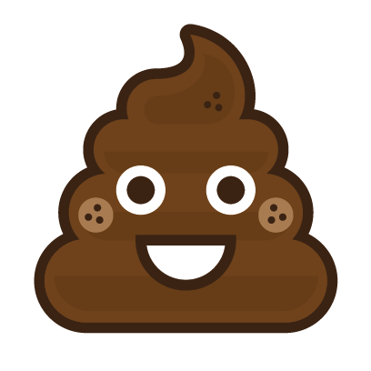 Poo Emojis: Stinky Stickers by Matt Brinker messages sticker-2