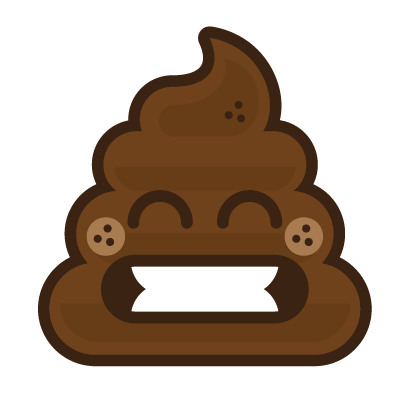 Poo Emojis: Stinky Stickers by Matt Brinker messages sticker-5