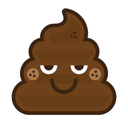 Poo Emojis: Stinky Stickers by Matt Brinker messages sticker-8