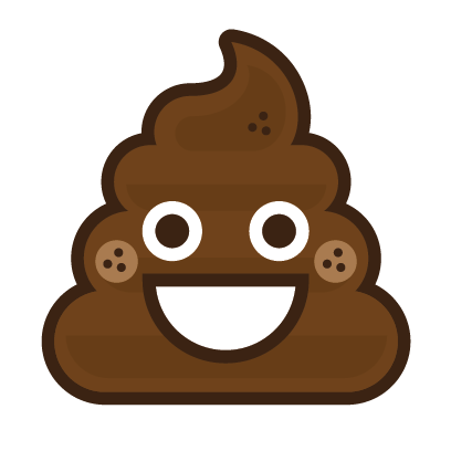 Poo Emojis: Stinky Stickers by Matt Brinker messages sticker-3