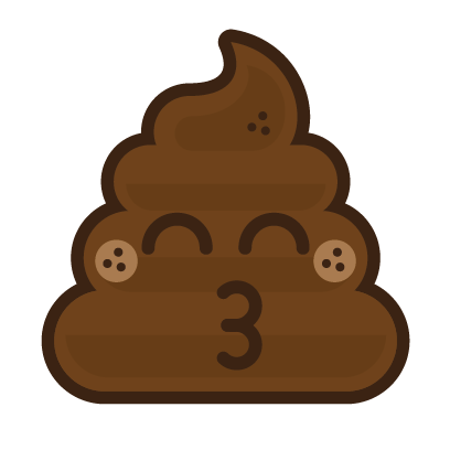 Poo Emojis: Stinky Stickers by Matt Brinker messages sticker-11