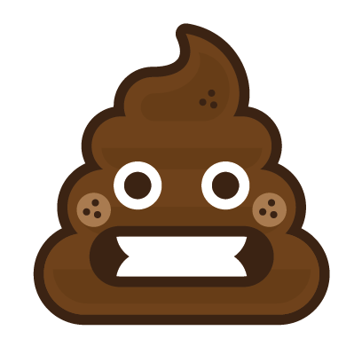 Poo Emojis: Stinky Stickers by Matt Brinker messages sticker-4