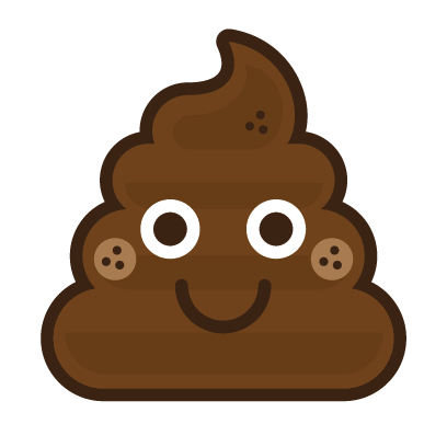 Poo Emojis: Stinky Stickers by Matt Brinker messages sticker-0