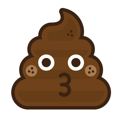 Poo Emojis: Stinky Stickers by Matt Brinker messages sticker-10