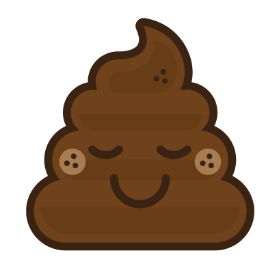 Poo Emojis: Stinky Stickers by Matt Brinker messages sticker-6