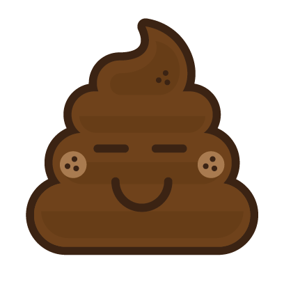 Poo Emojis: Stinky Stickers by Matt Brinker messages sticker-7