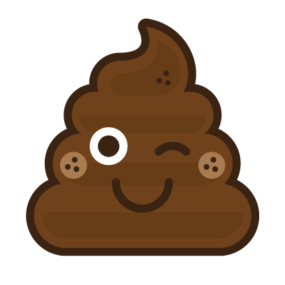 Poo Emojis: Stinky Stickers by Matt Brinker messages sticker-9