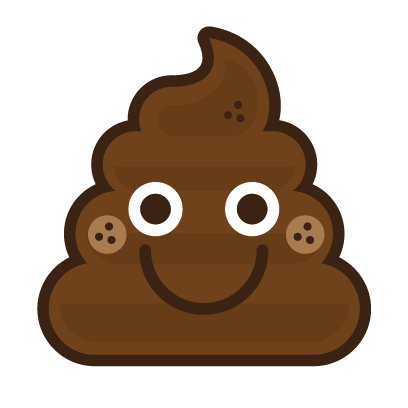 Poo Emojis: Stinky Stickers by Matt Brinker messages sticker-1
